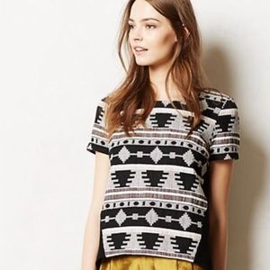 Sunday In Brooklyn - Embroidered Tribal Everly Top